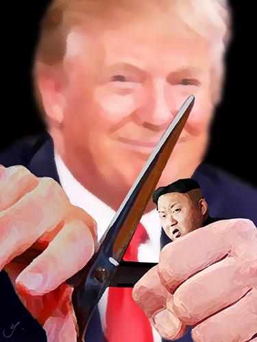 trump cutting kim's head off.jpg